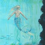 SIGNED The Mermaid's Cave Art Print 8x10