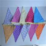 Kids bunting flags