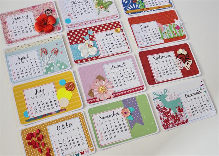 Handmade Calendar With Photos : Handmade calendar images d world of marlene my