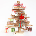 50 cm Wooden Christmas tree..  with decorations