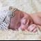 Newborn flapper hat // newborn photo prop // baby bonnet