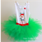 Green Christmas tutu set (3 to 6 months old)