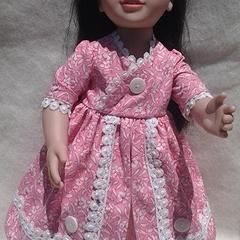 Regency Gown - pink floral