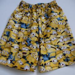 "Size 4  and 5 - ""Minion"" Shorts"
