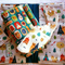Forrest Critters Set Includes Nappy Clutch Bib and Blanket