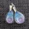NEW Mandala ~ Smaller Teardrop Lever Back Earrings