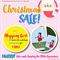 Christmas SALE - FREE Card-Little Audrey-Skipping Girl Vinegar, Melbourne Print