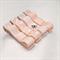 Set of 4 hair clips (pale peach)