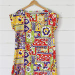 SUMMER TOWELLING TUNIC XS 8/10