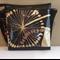 Black Vinyl Panel Messenger Bag: Dandi Lion by Alexander Henry fabric