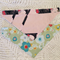Set of 2 dribble bandana bibs