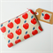 red apples purse clutch