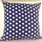 Indigo Spot cushion cover