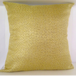 Gold Weave cushion cover