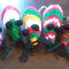 5 little mice - Cat toys
