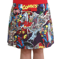 Marvel Comics ladies skirt with stretch waistband