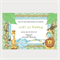 Printable Jungle Birthday Invitations