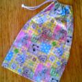 Small ABC Teddies Drawstring Bag for Kids
