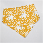Yellow Unicorn Bandana Dribble Bib
