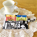 Star Wars Print Tea Wallet with white pocket - holds 4 teas