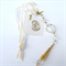 Wedding bride good luck charm, mirror dangle, suncatcher.