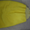 Yellow Knitted Hand Towel Topper