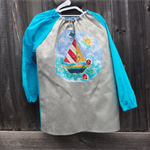 Art smock age 9 - 12 years (upper primary school) Yacht