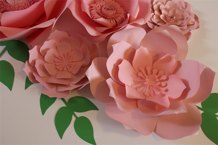 Large pink flowers pink paper flower centerpiece paper flower large pink flowers pink paper flower centerpiece paper flower wall mightylinksfo