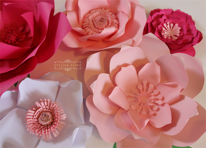 paper flower centerpiece paper flower wall large paper flowers