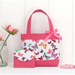 Mini Tote Bag & Purse - Butterflies