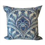 Outdoor Tommy Bahama Crescent Beach Cushion Cover in Riptide Blue