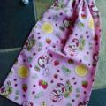 Small Strawberry Shortcake Drawstring Bag for Kids