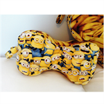 Peanut Pillow - Minions children's/adults headrest and neck support cushion.