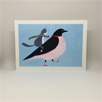 'Matilda takes a flying lesson with Mrs Crow