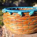 PERSONALISED Handwoven Pine Needle Spiritual Healing Basket (Small Sculptural)