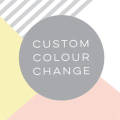 Colour change for Invitation or Birth Announcement