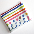 Large Pouch in Gorgeous Colourful Fabric