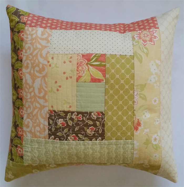 Patchwork Cushion Cover Rebecca Miller Designs On Madeit