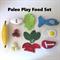 Healthy Felt Play Food Set