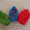 * Special * 3 beanies: Size1-3yrs; Green, Multi colour , Red