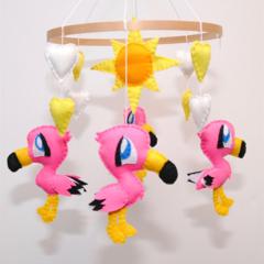 Flamingo ~ Nursery Mobile