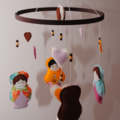 Babushka Doll Nursery Mobile