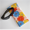 Padded Sunglasses Pouch in Colourful Floral Fabric