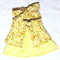 Yellow toddler girls dress . Size 2 . Baby girls dress