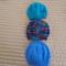*Special * 3 beanies: Size 6-12mths; Aqua, Multi Colour, Blue