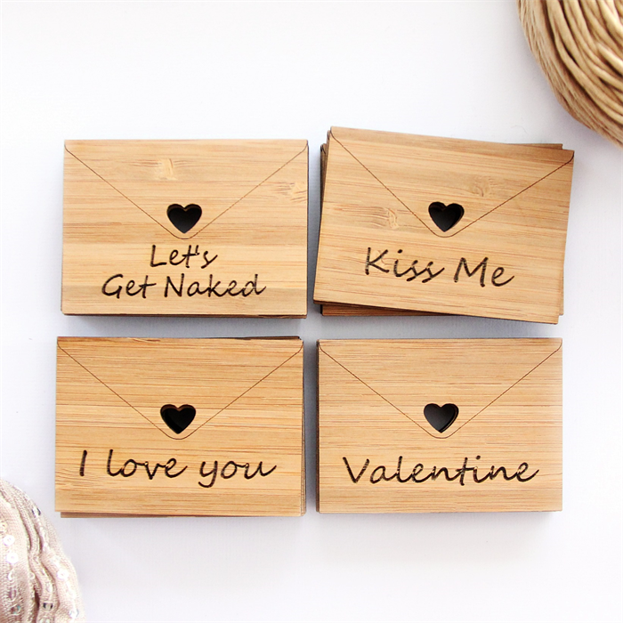 4 Love Letters Select Your Own Bamboo Valentine S Day Anniversary
