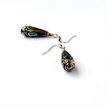 Lapis Lazuli and Turquoise Nepal Earrings