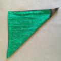 Pocket Square - Green Sari