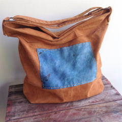 Leather tote, leather bag