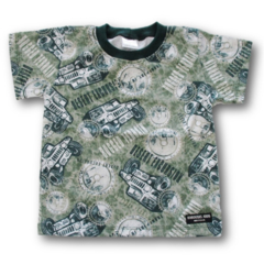 Handmade Boys Cotton Print T-Shirt - FREE POST
